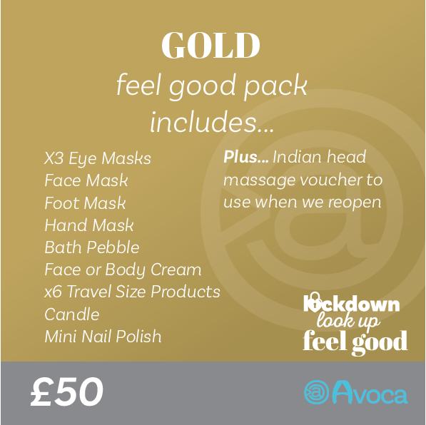 Gold Feel Good Pack