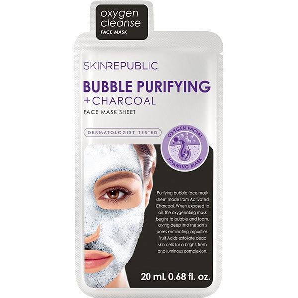 Skin Republic Bubble Charcoal Face Mask